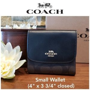 NEW Coach Small Wallet w/ gift box